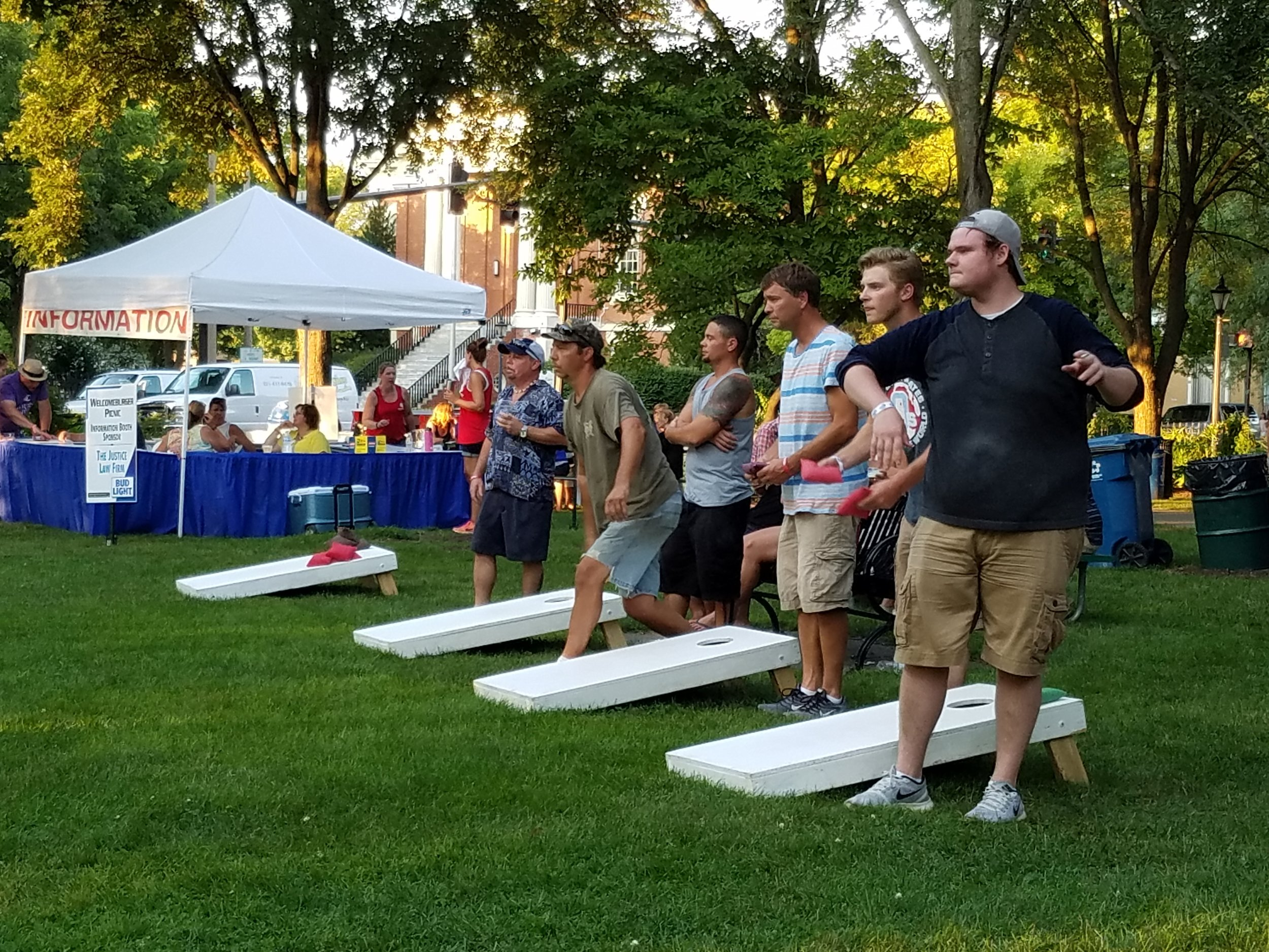4 Sets of Cornhole
