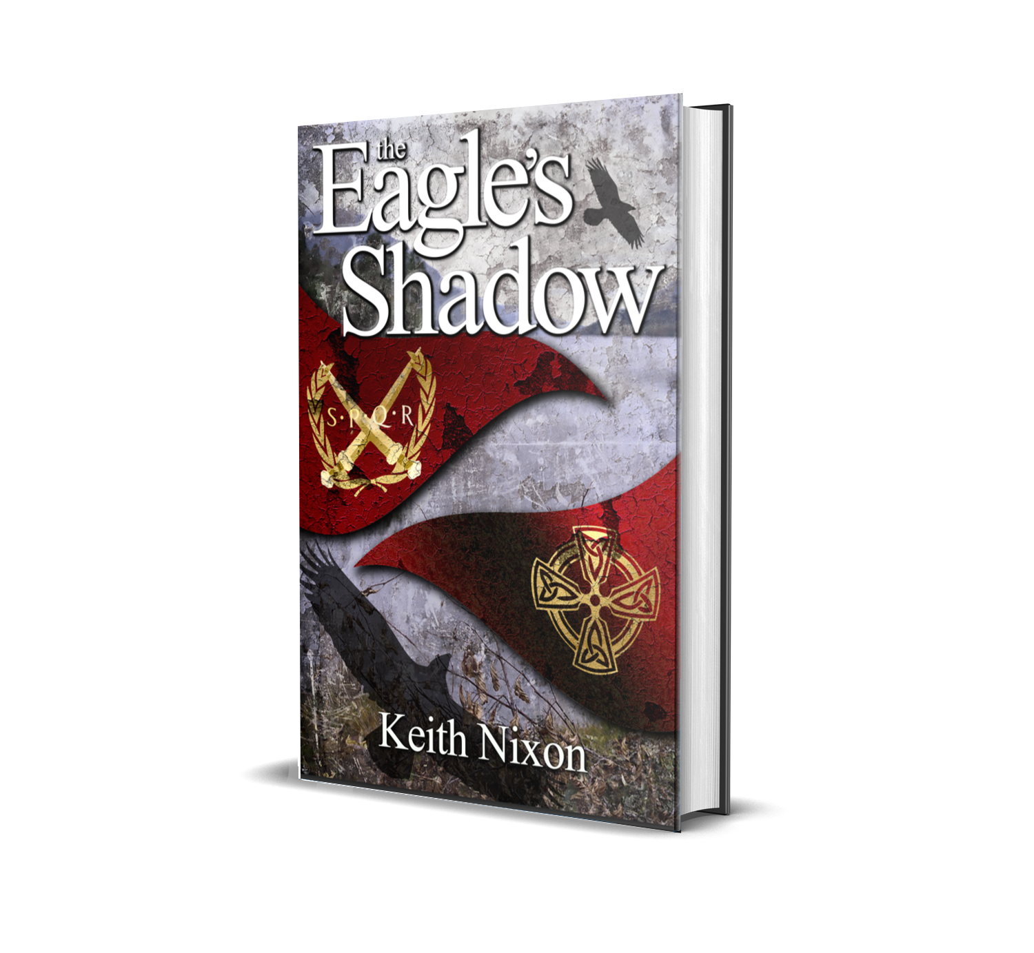 The Eagle's Shadow - In Rome a new Emperor, Claudius, accedes the throne. But he is politically weak, enemies who would take his place circle and plot. If he is to survive Claudius needs a triumph, one that marks him as a leader of men.Claudius's eye turns to the mysterious isle of Britannia, home of the supernatural Druids and brutal, wild-eyed warriors, reputed to fight naked. The place not even Julius Caesar could conquer.AD43 and a massive invasion force, commanded by Aulus Plautius, lands on a tiny corner of Britannia. Caradoc, King of the country's most powerful tribe, assembles an army to throw his enemy back over the water and into Gaul.But divisions are rife and there are those who are secretly working with the Romans for their own benefit. The very future of the country is at risk and only one man can safeguard it…