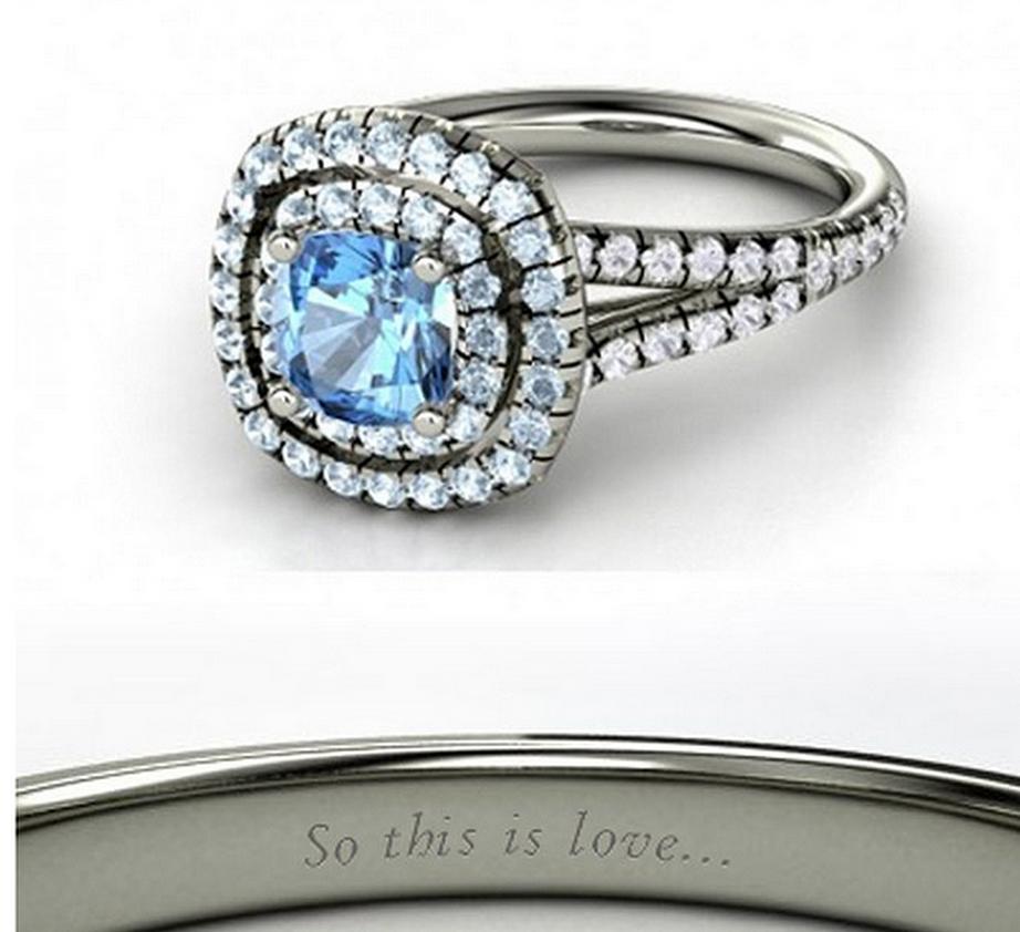 Cinderella wedding ring