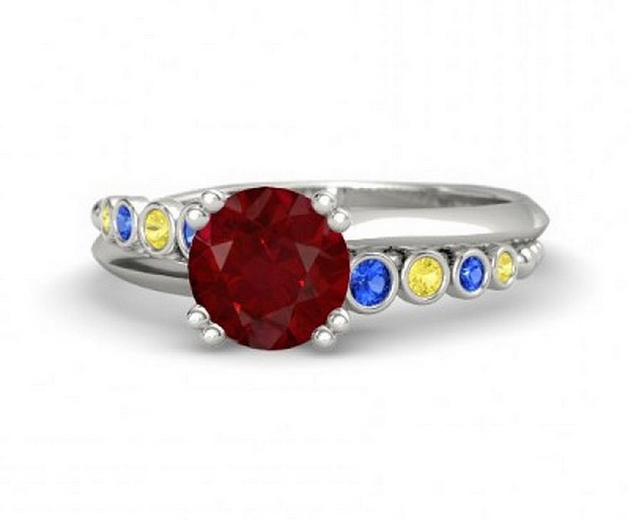 Snow White wedding ring
