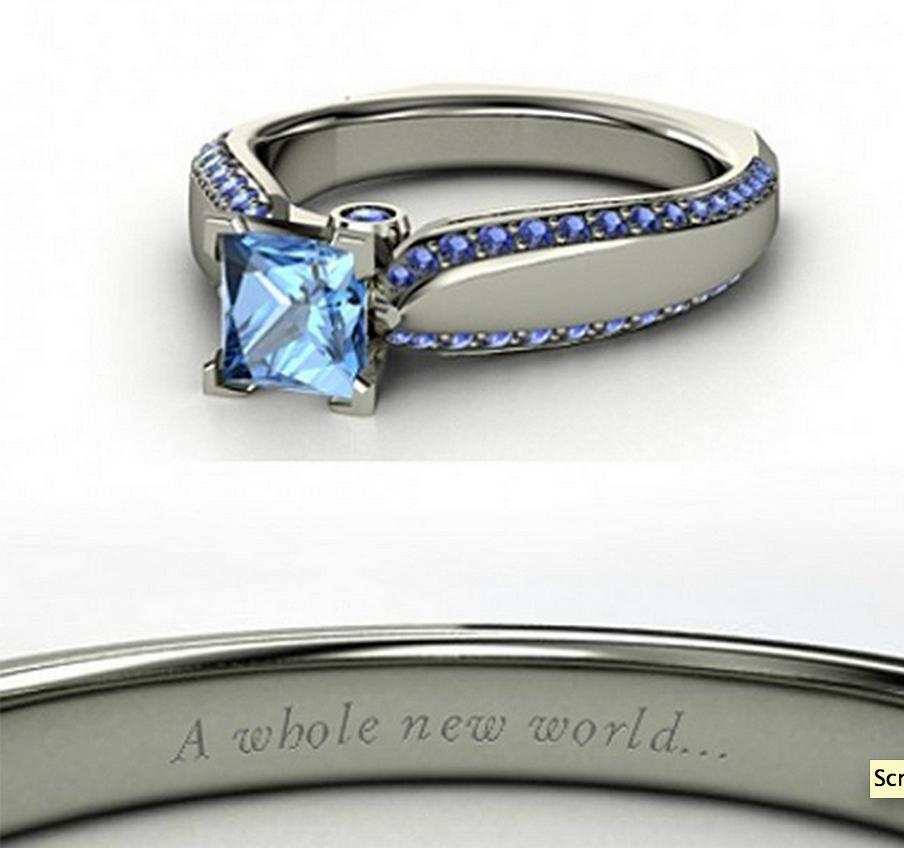 Jasmine wedding ring