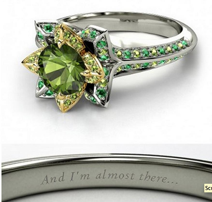 Tiana wedding ring