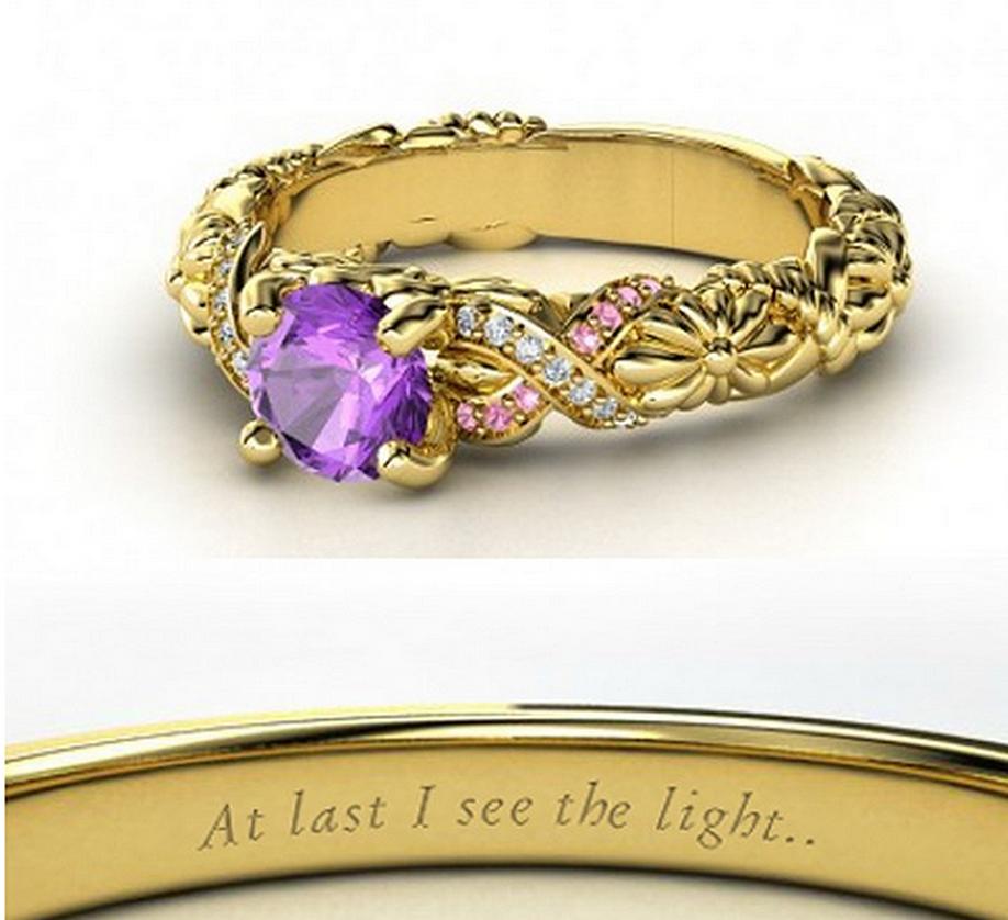 Rapunzel wedding ring