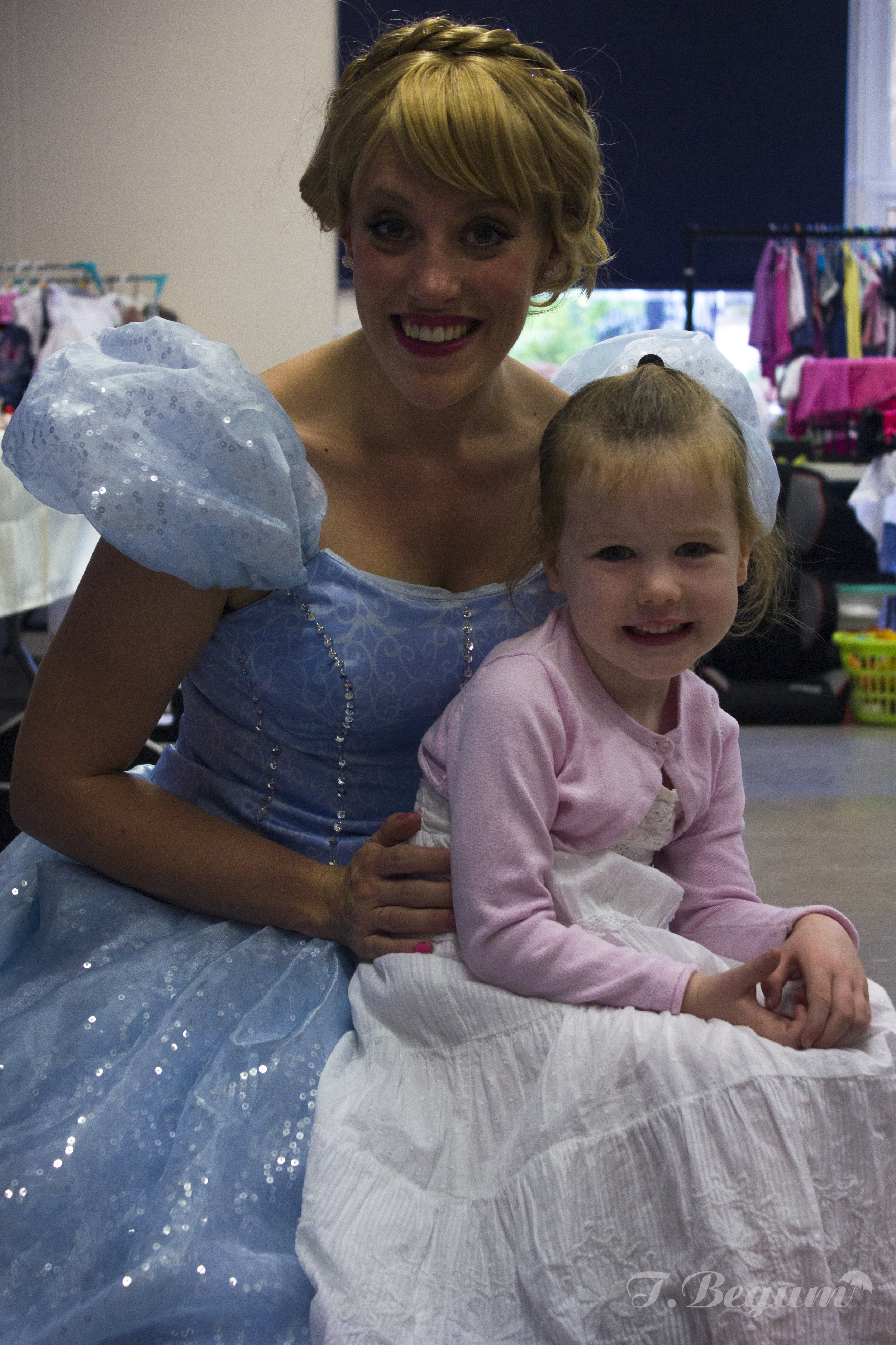Girl with cinderella
