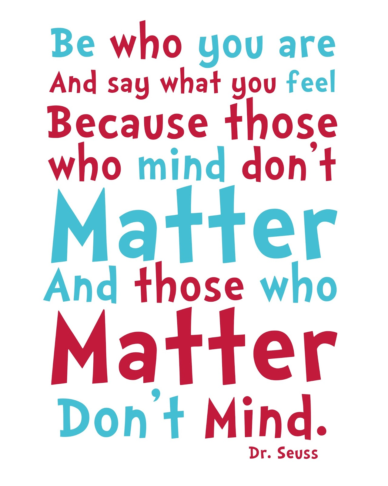 don't matter quote