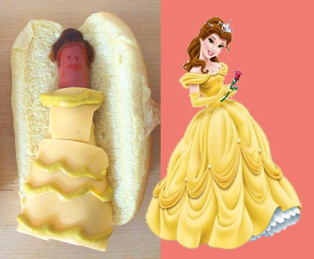 Belle hot dog
