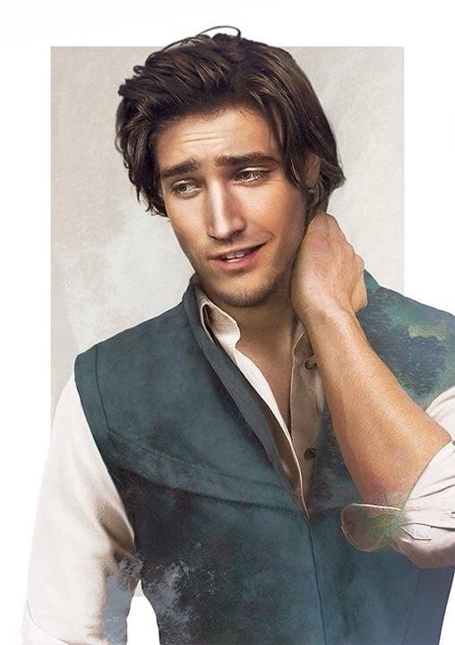 Eugene Fitzherbert, aka Flynn Rider, from Rapunzel