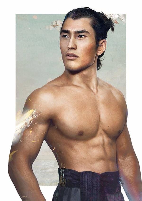 Captain Li Shang, from Mulan