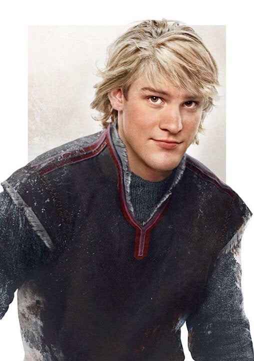 Kristoff, from Frozen