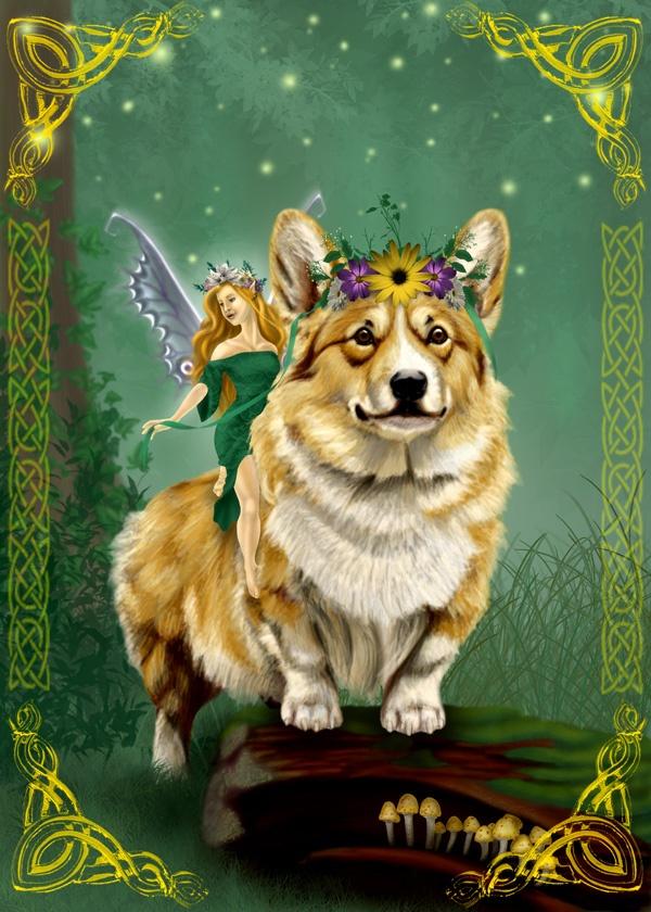 corgis and fairies