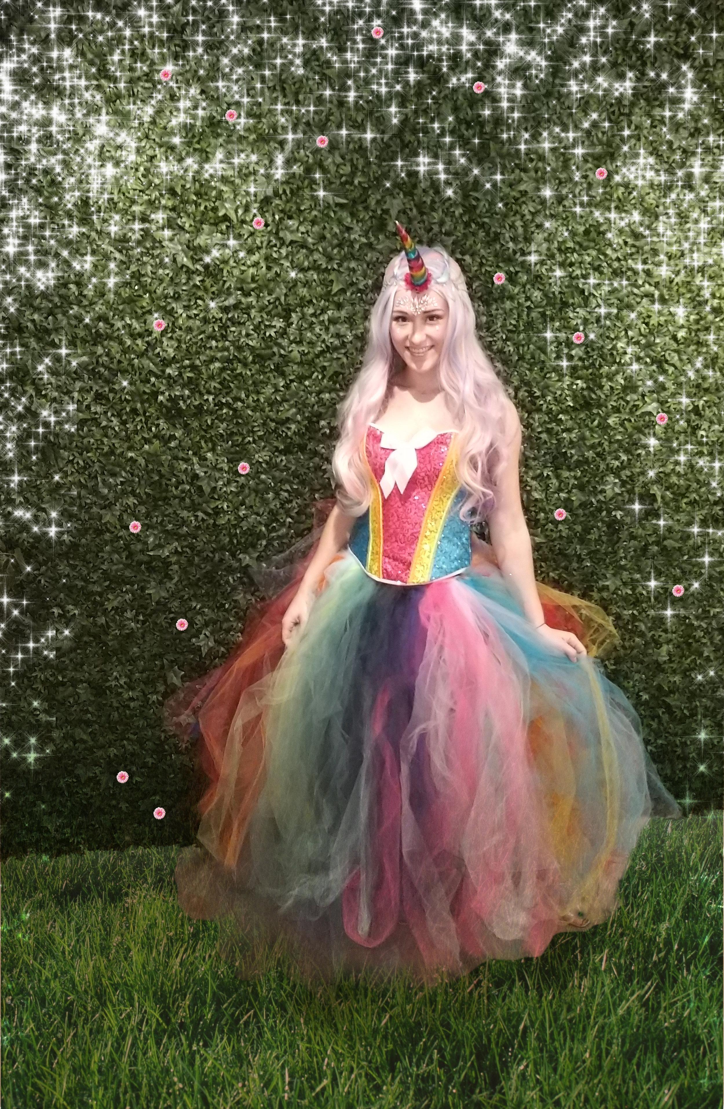 Copy of Rainbow Sparkle our Uniqorn