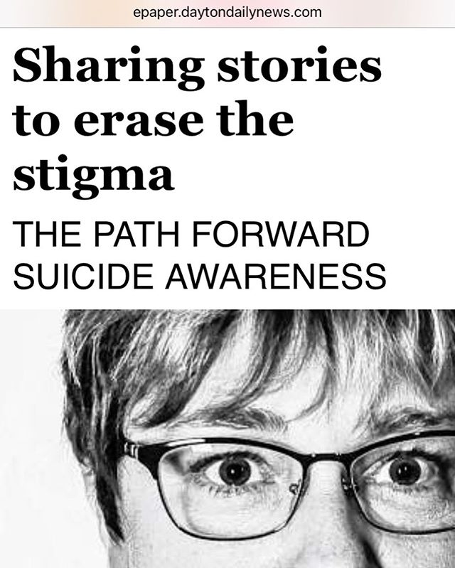 🗞👉🏼The @daytondailynews piece on  1 of my ongoing projects, @the_stanley_sessions, is now up online, too! Read #suicide survival stories from people just like you. You are not alone! Link is right here:  https://bit.ly/31SkdNq 🗞 Photos by: Whitney Saleski for @the_stanley_sessions ❤️ #article #news #newspaper #dayton #ohio #bnw #portrait #photography #portraiture #stanleysessions #ddn #daytondailynews #suicideawarness #suicideprevention #project #art #press #girlgaze #mentalhealth #mentalhealthawareness #story #nami #afsp #stigmafree #website