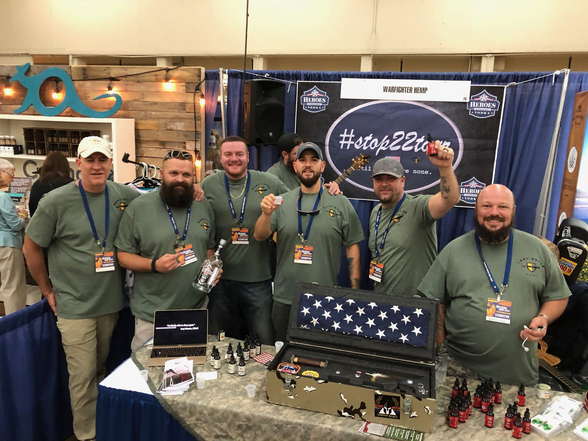 Warfighter Hemp: Hemp products for veterans, by veterans. The company provides a holistic and natural alternative for recovering United States veterans.