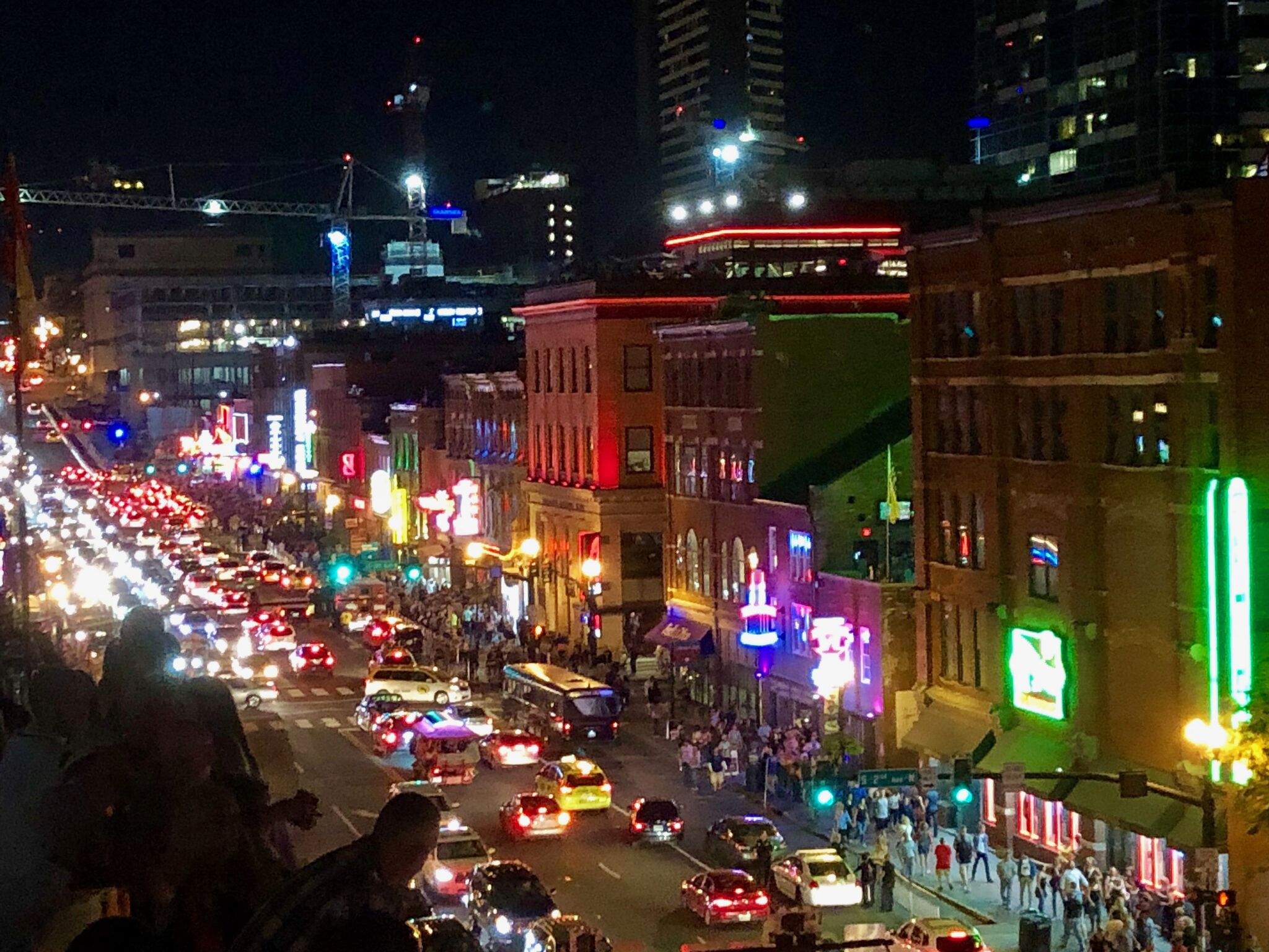 Hemp enthusiasts walk the streets of downtown Nashville following the conclusion of the Southern Hemp Expo. Join us next year as the Expo will make a return to Nashville in 2019!