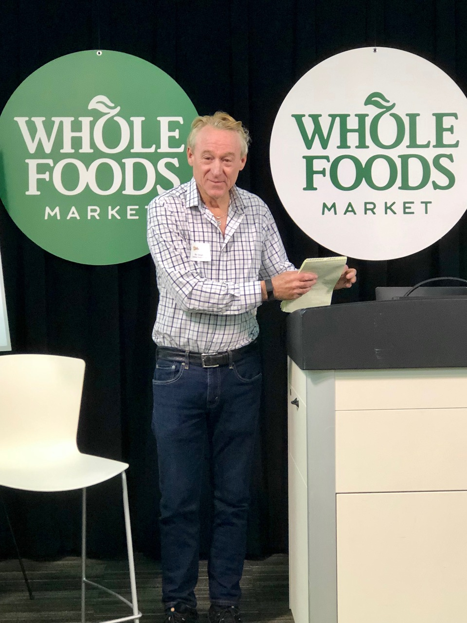 Former Whole Foods Market board member and Celestial Seasonings founder Mo Siegel opens the Brand Innovators summit in Austin on May 2