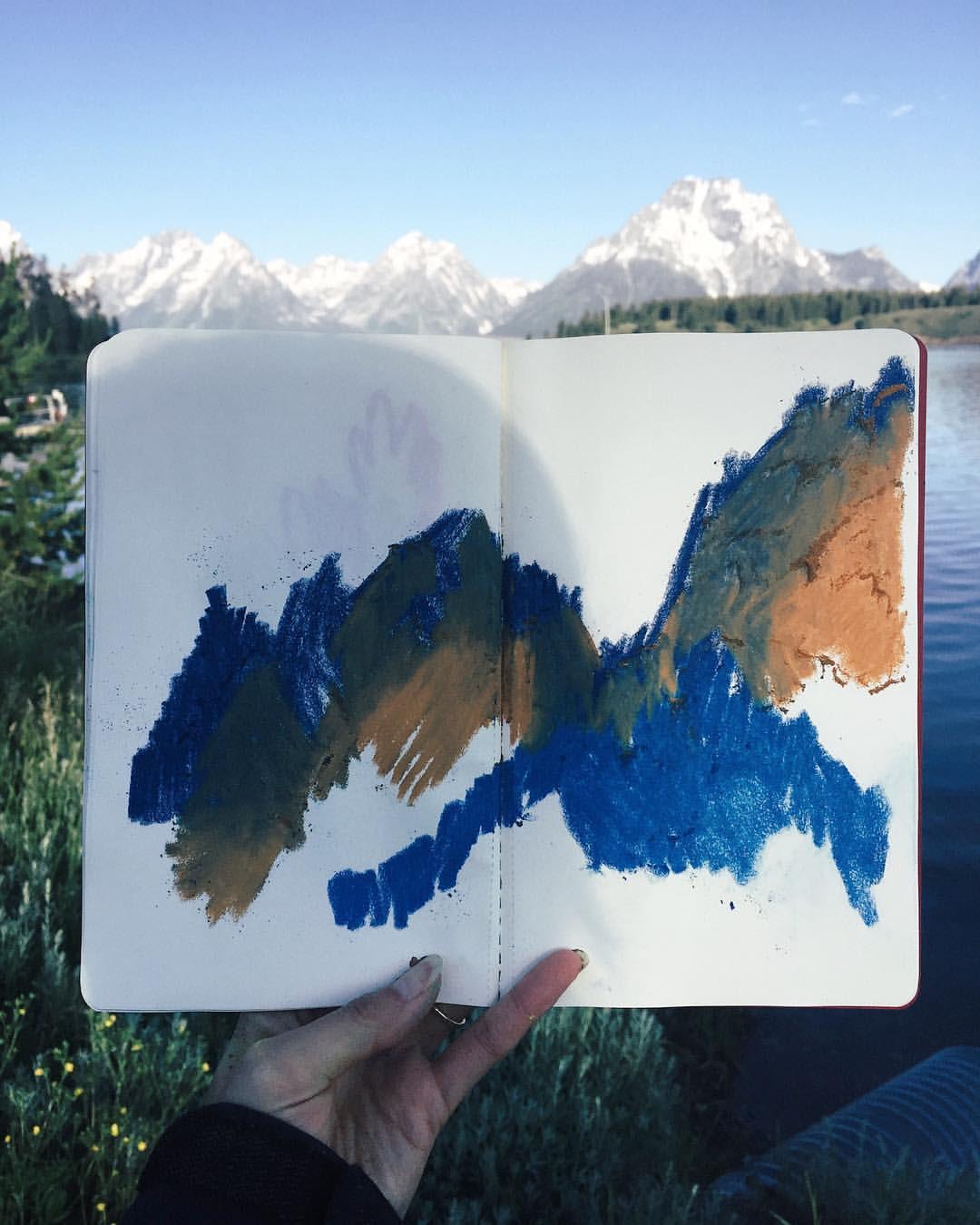 The Grand Tetons - Mountains I