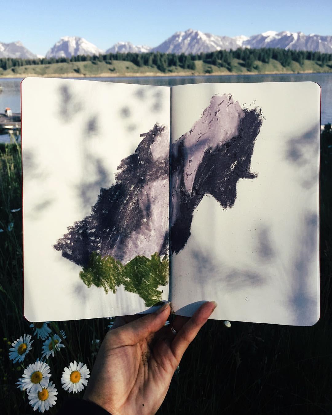 The Grand Tetons - Mountains II