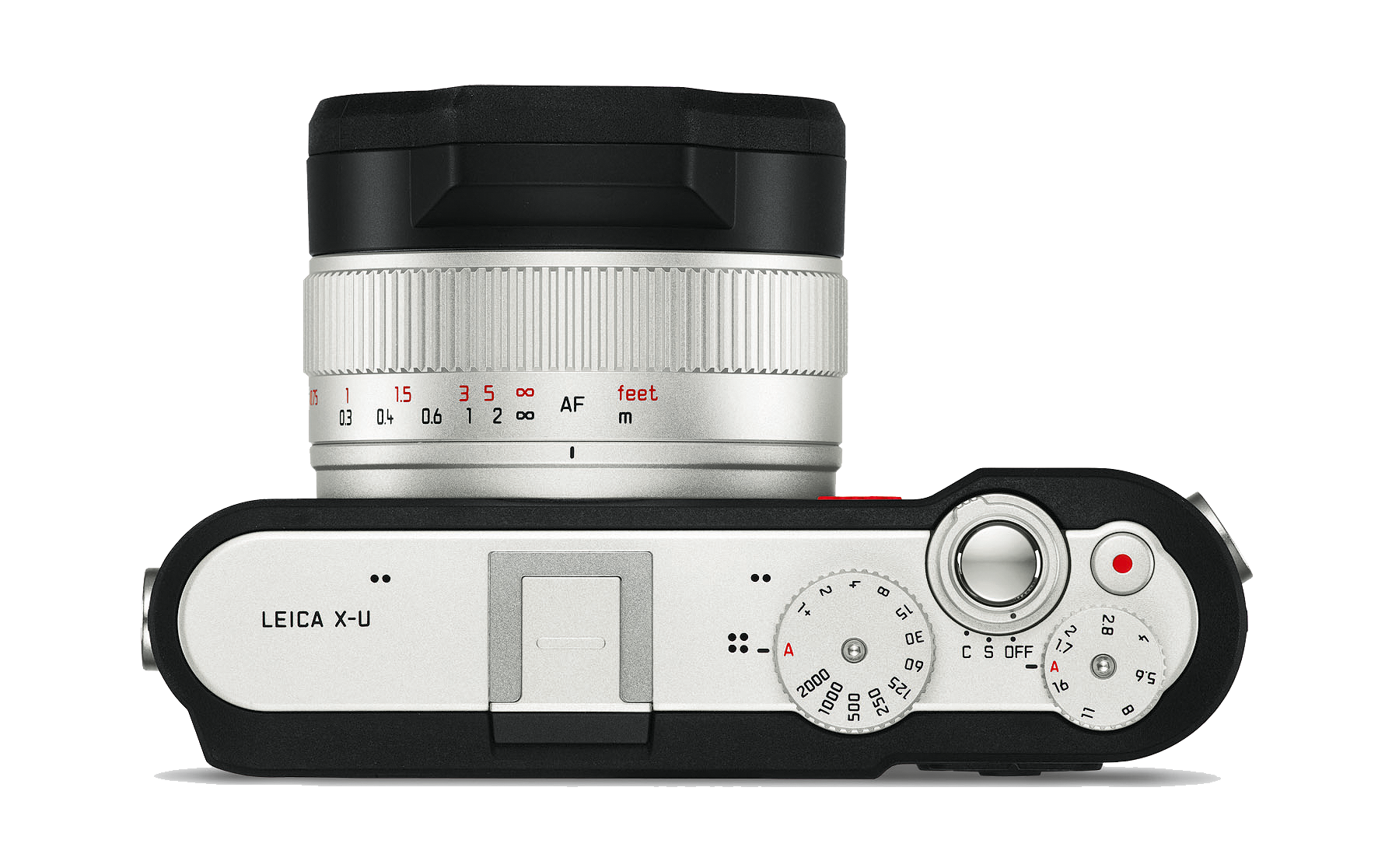 The Leica X-U's body was developed in partnership with AUDI Design
