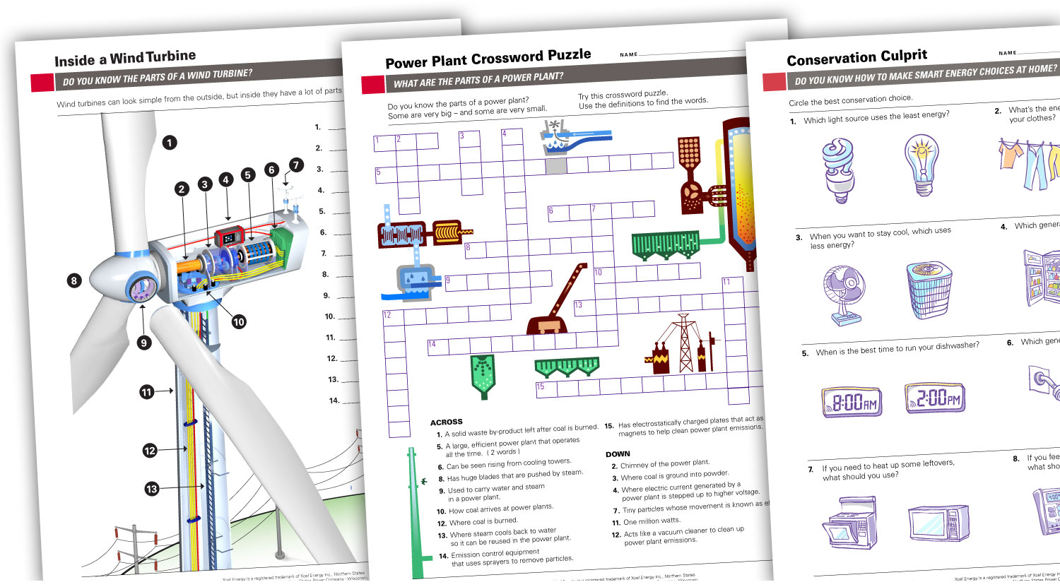 Each topic in Energy Classroom is supported with downloadable pdf-based worksheets, activities, and experiments. These are designed for teachers and their classrooms.