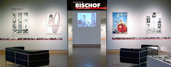 The CD-ROM was a centerpiece in an exhibition of Bischof's photographs at the Minneapolis Institute of Arts.