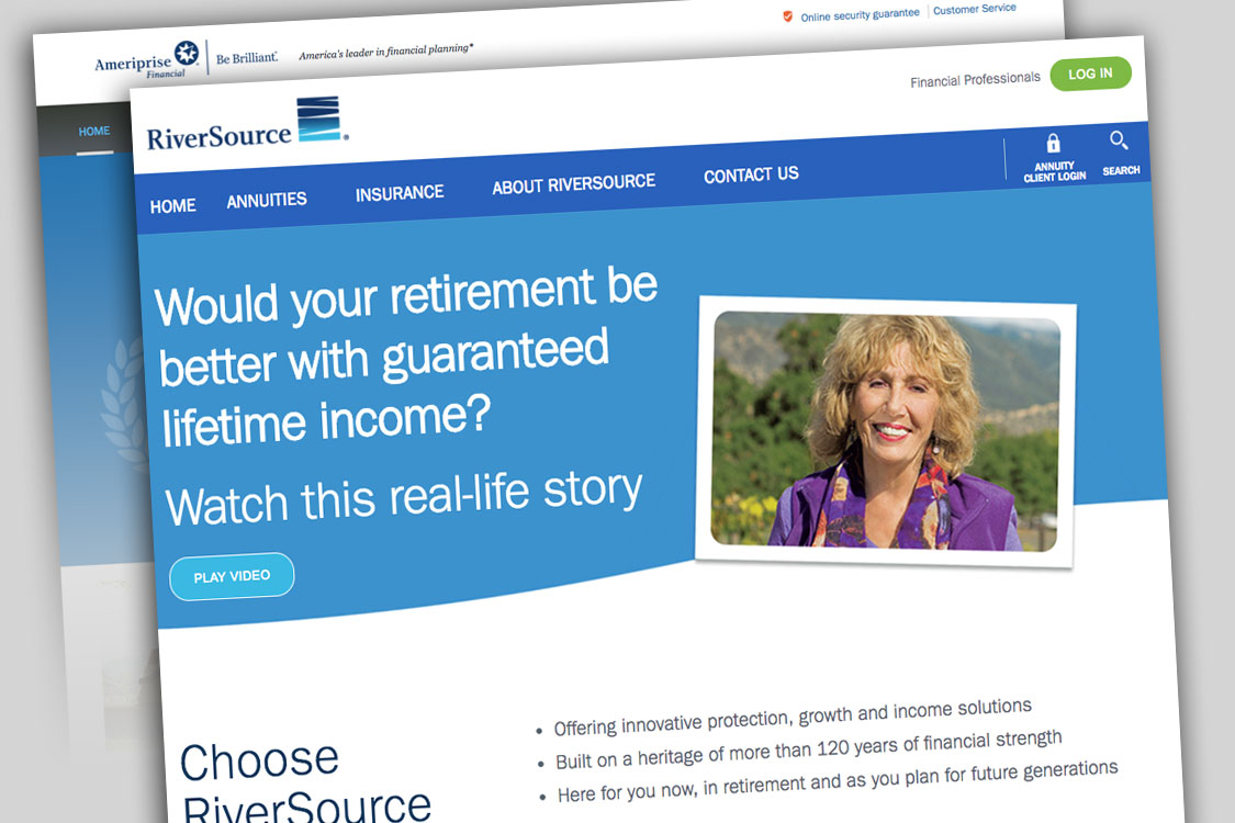RiverSource Insurance offers both insurance and annuity products through Ameriprise Financial Advisors.