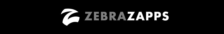 I designed the visual identity for ZebraZapps.