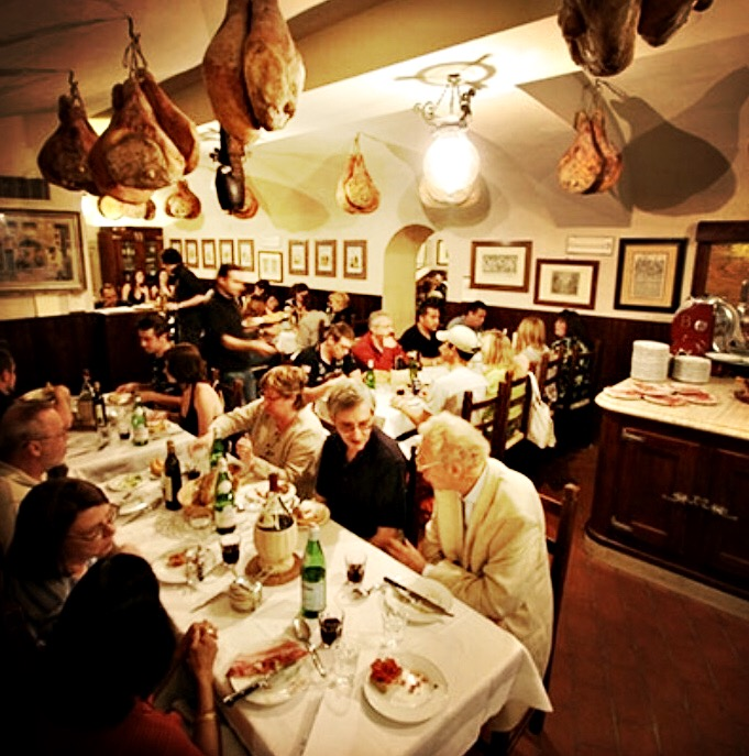 Communal dining is so fun!