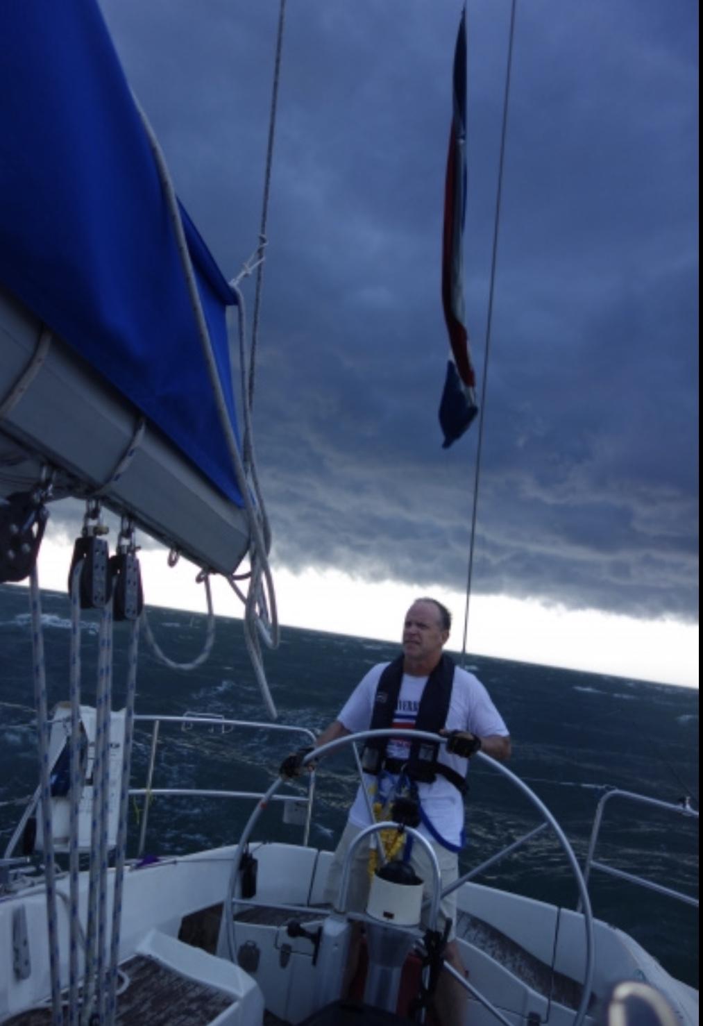 Captain Tim has weathered similar storms.