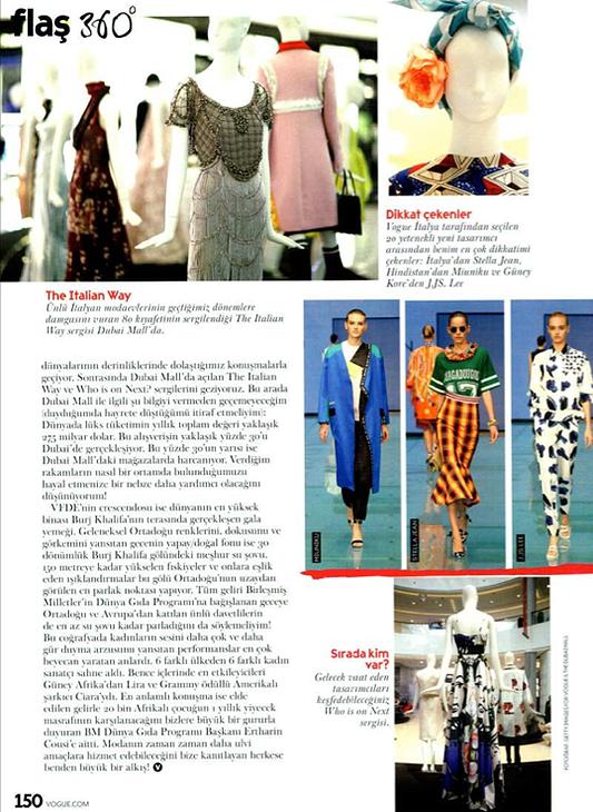 Vogue Turkey - March 15