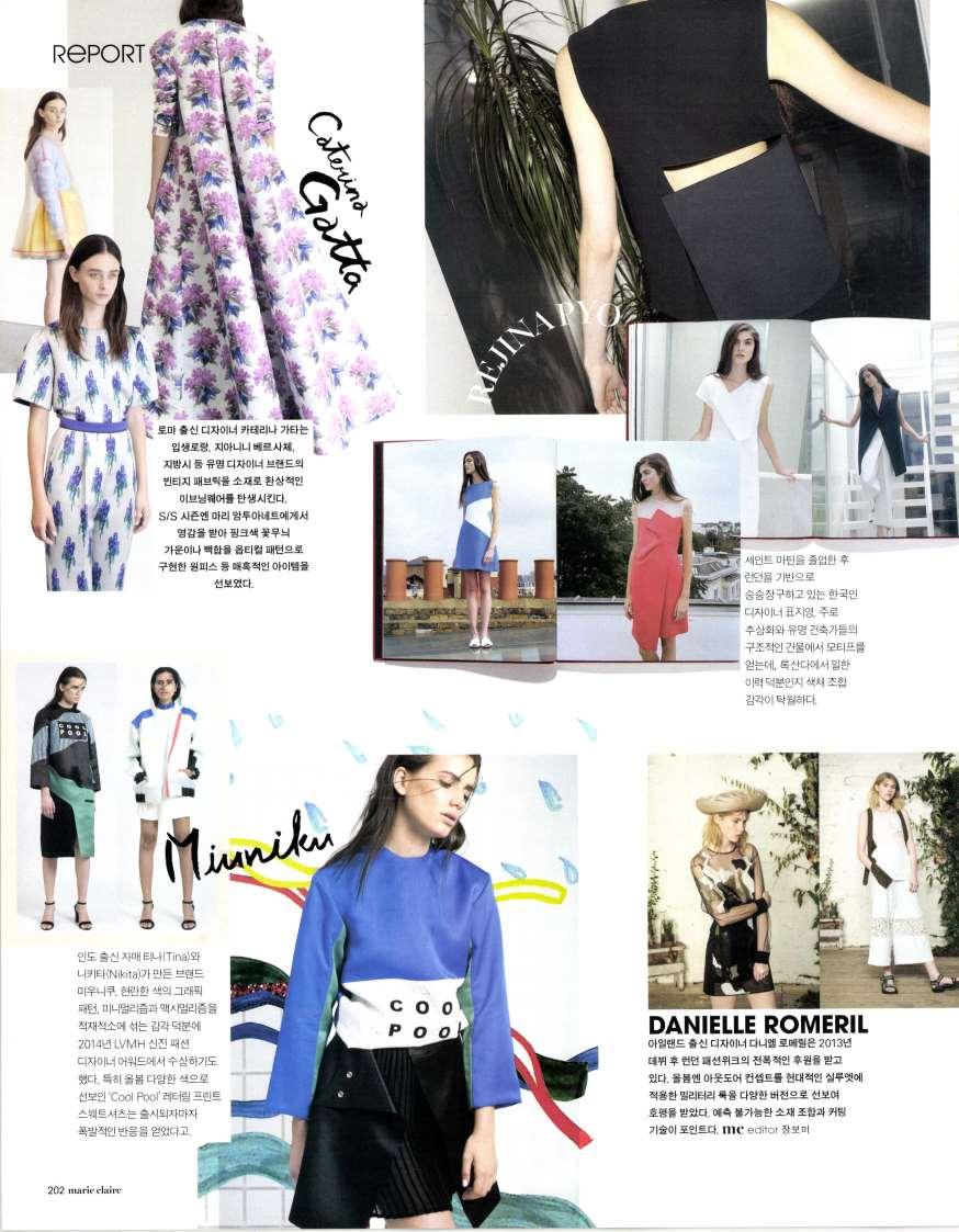 Marie Claire Korea - April 15