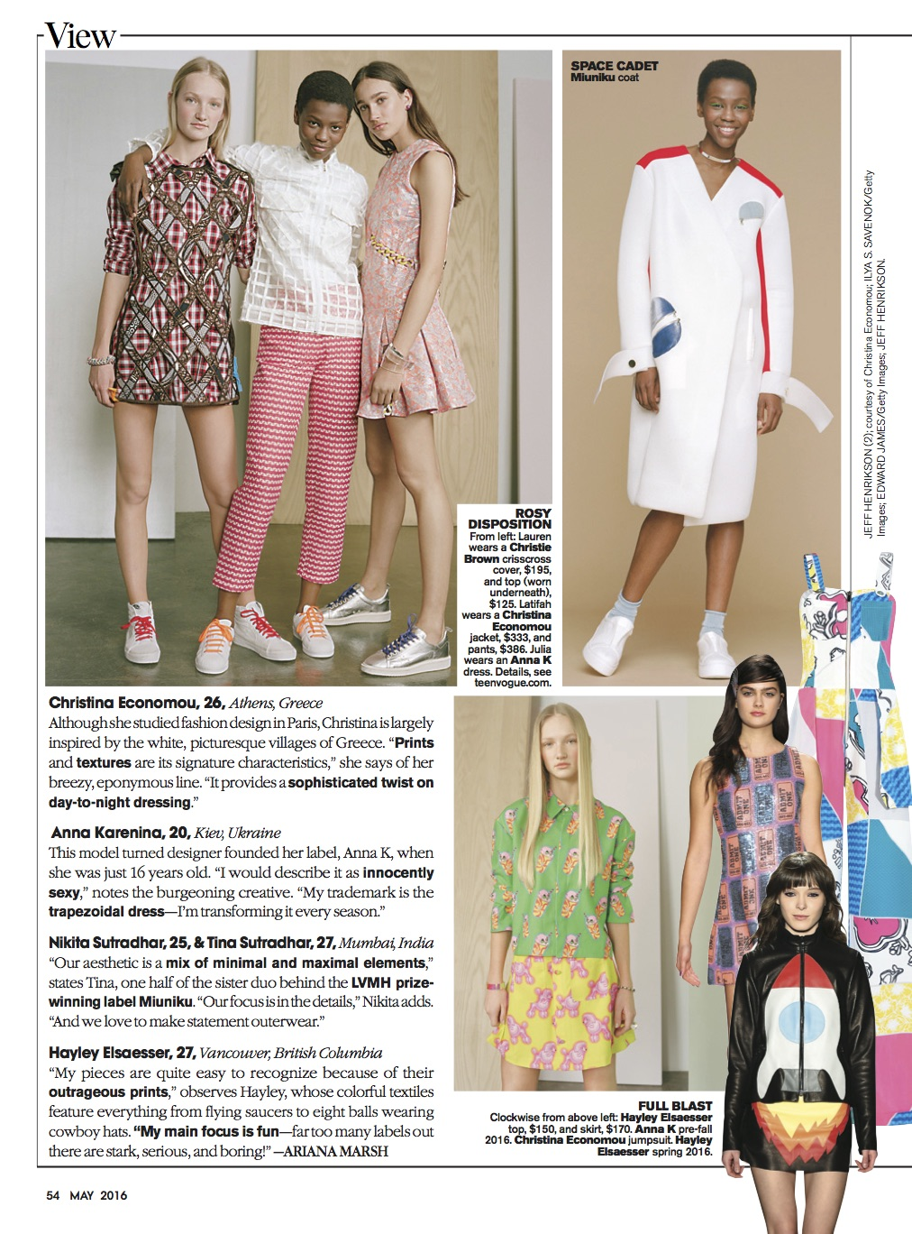Teen Vogue - May 16