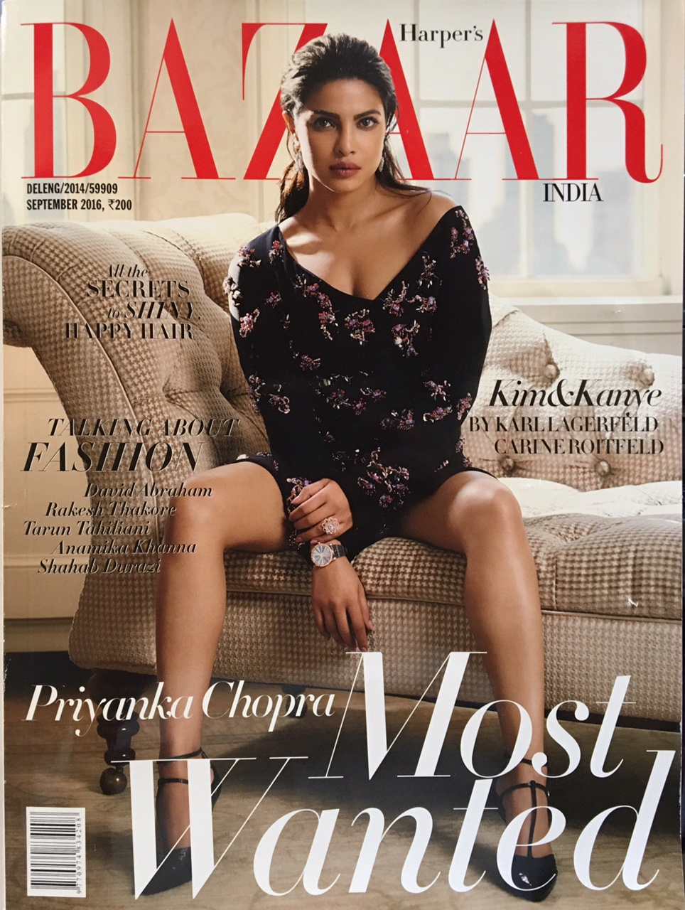 Harper's Bazaar India - Sept. 16