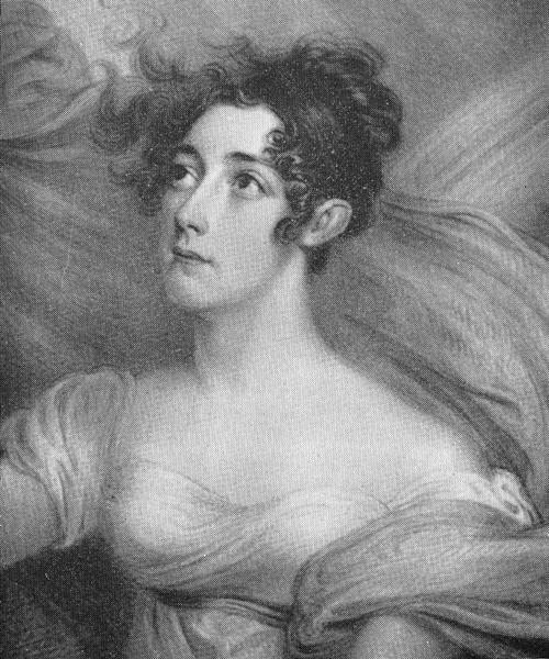Susanna Aspinwall Tappan, looking Byronic.