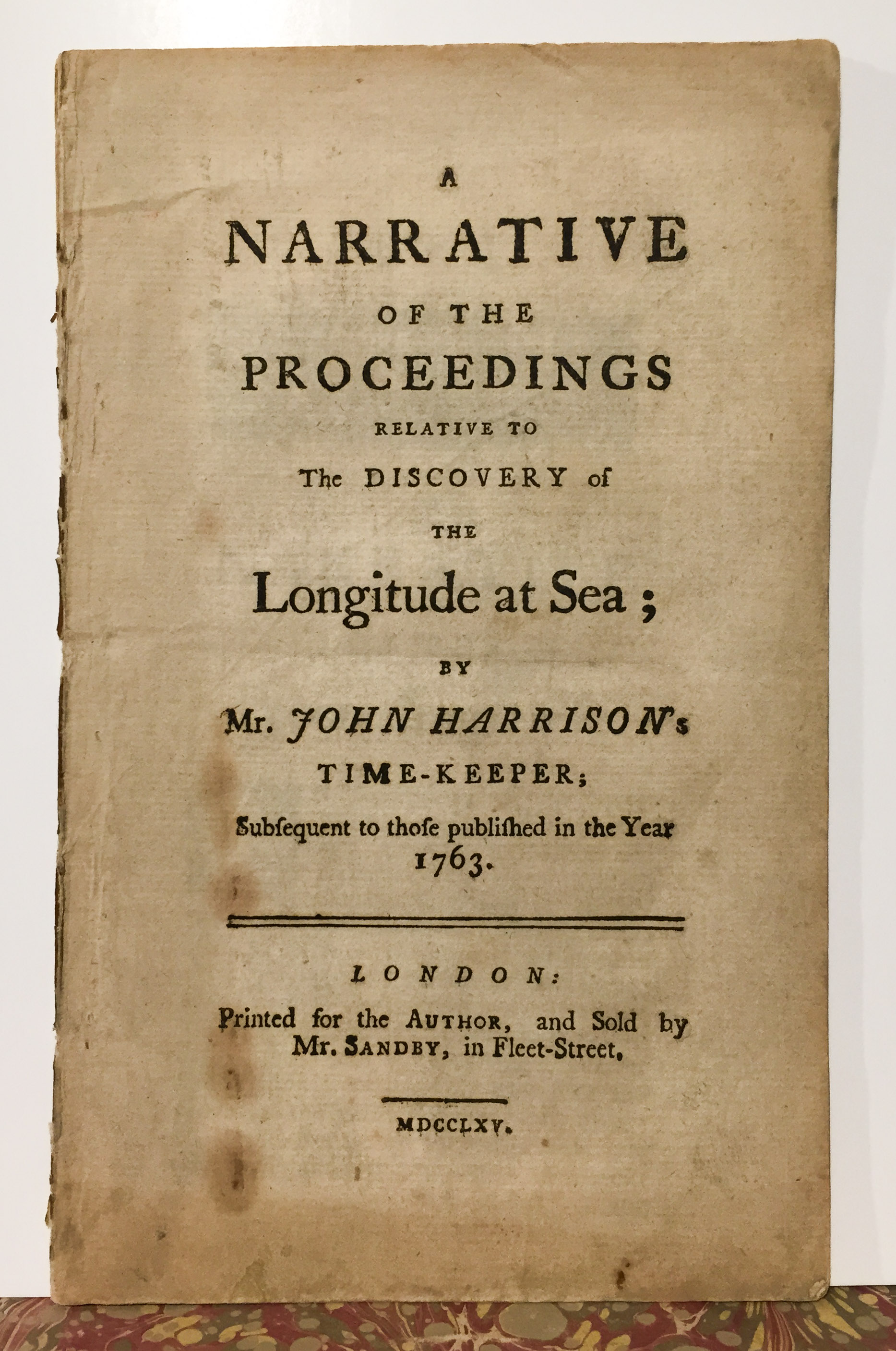 Harrison. Discovery of Longitude