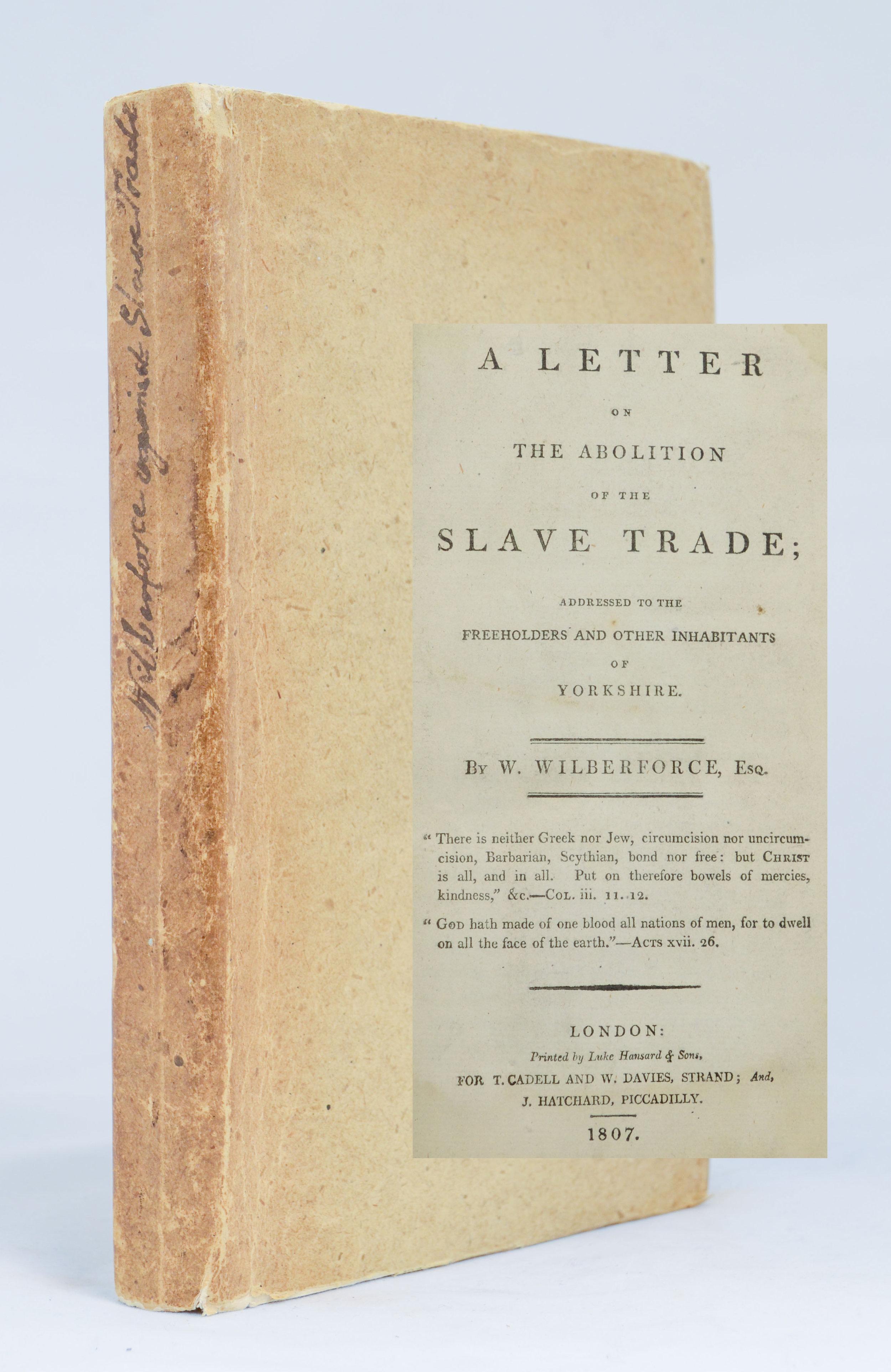 Wilberforce. Slave-Trade