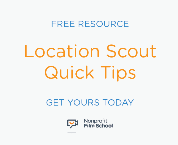 Download your Free Location Scout Quick Tips Guide Resource