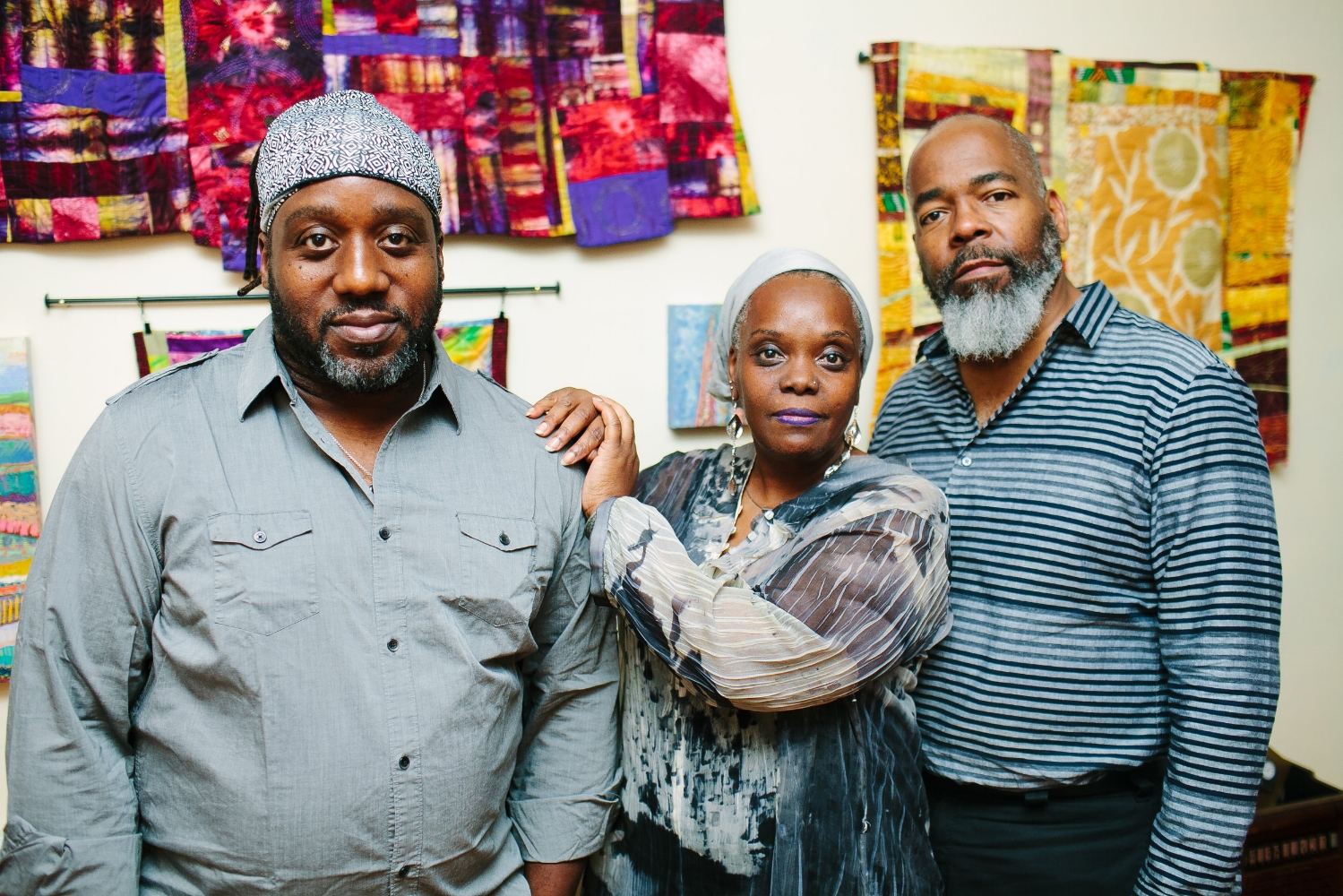 (l to r) Michael Clemmons, Vashti DuBois, and Ian Friday. Photo Zamani Feelings
