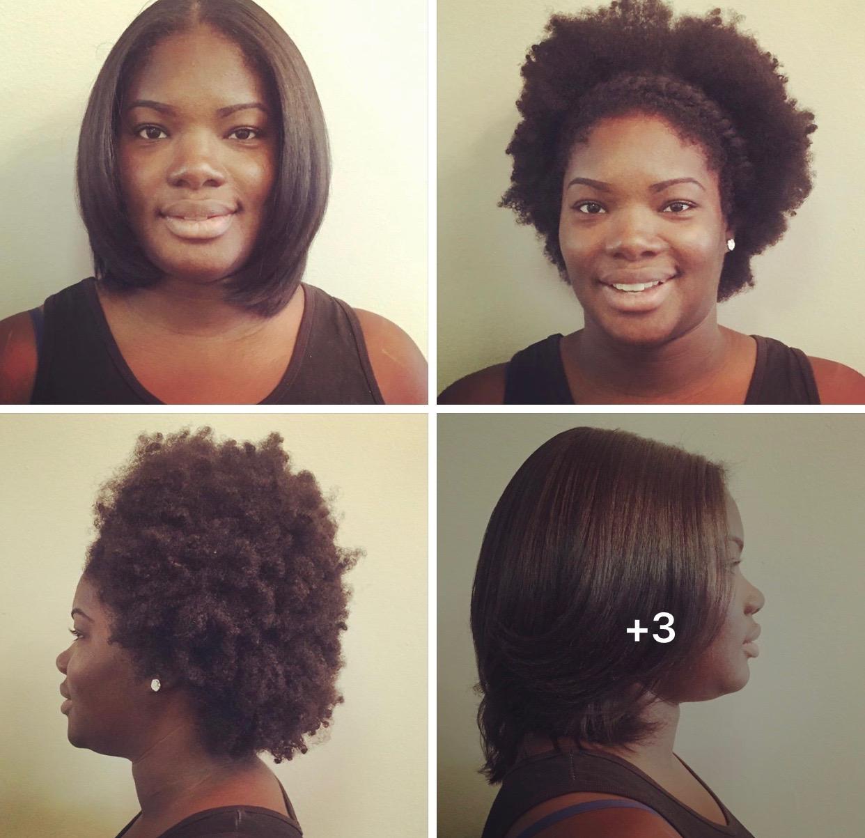 50 Natural Hair Blow Out Silkpress Brown Sugar Hair Boutique