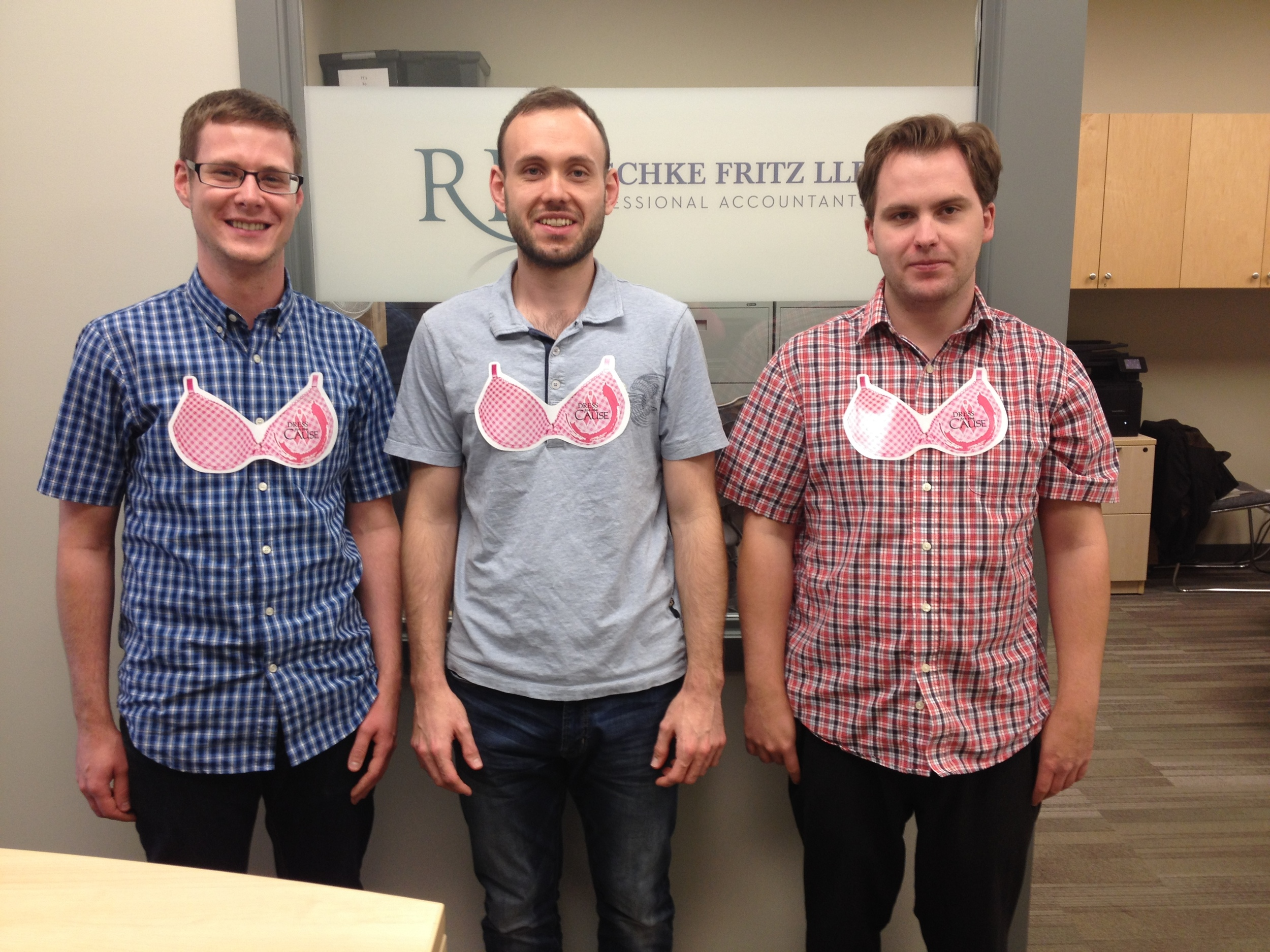 Left to Right: Logan Hrushka; Carl Ferguson, Kyle Shouldice (Devon Office)
