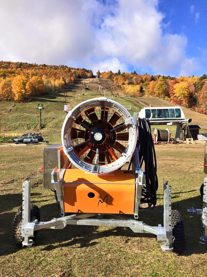 New lift, trail and guns at West.  West Mountain