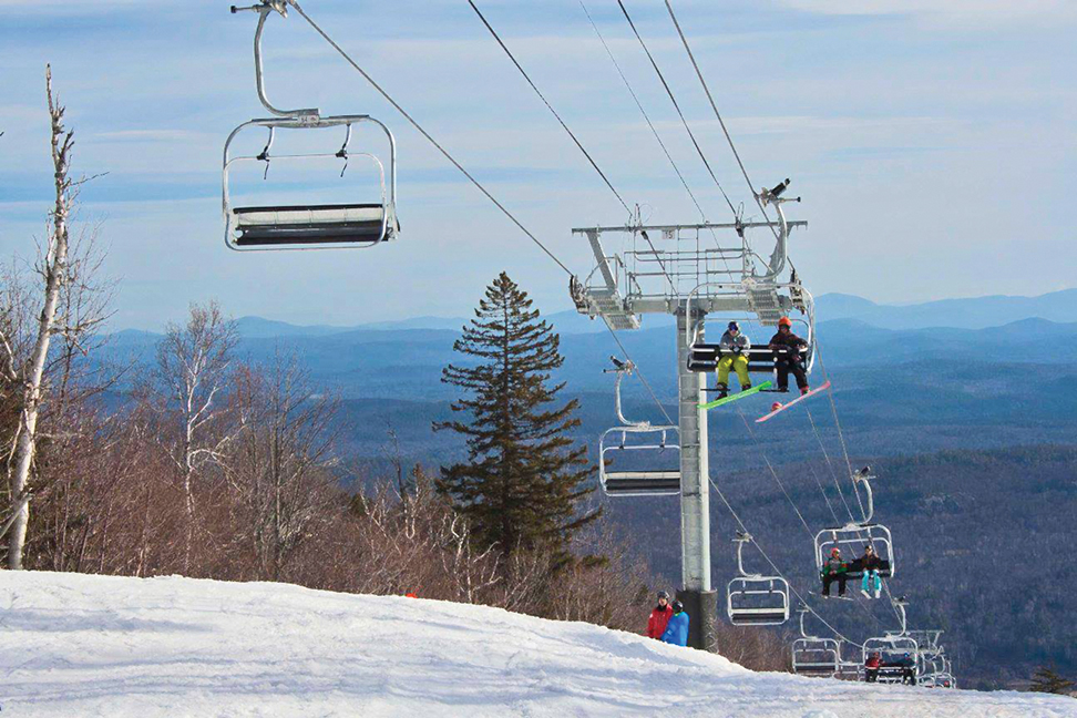 Movin' on up… Opening day at Gore Mountain, November 27.  Gore Mountain