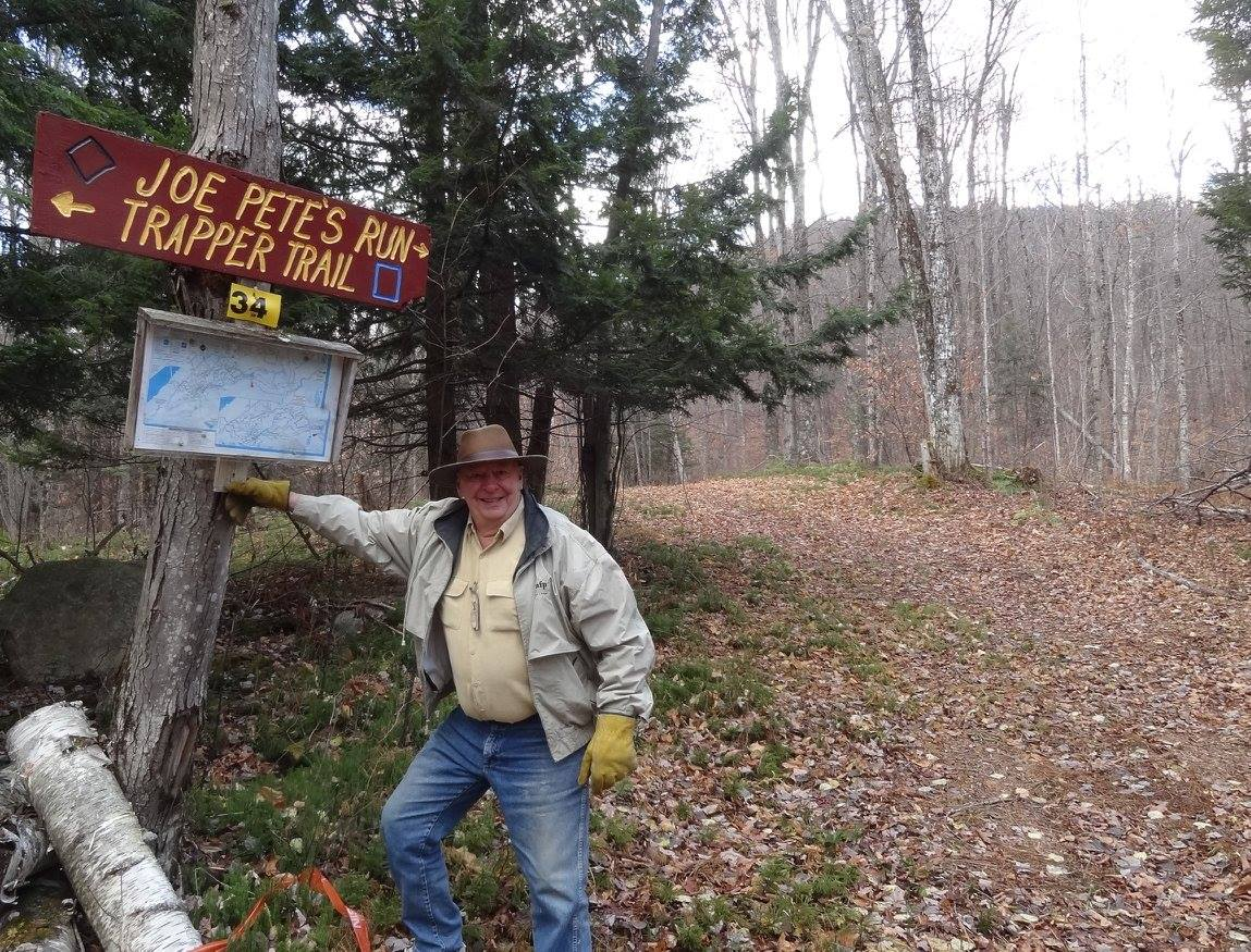 1960 US Olympic cross-country skier Joe Pete Wilson reopens a Garnet Hill trail on November 25 that he helped build 30 years ago.  Garnet Hill