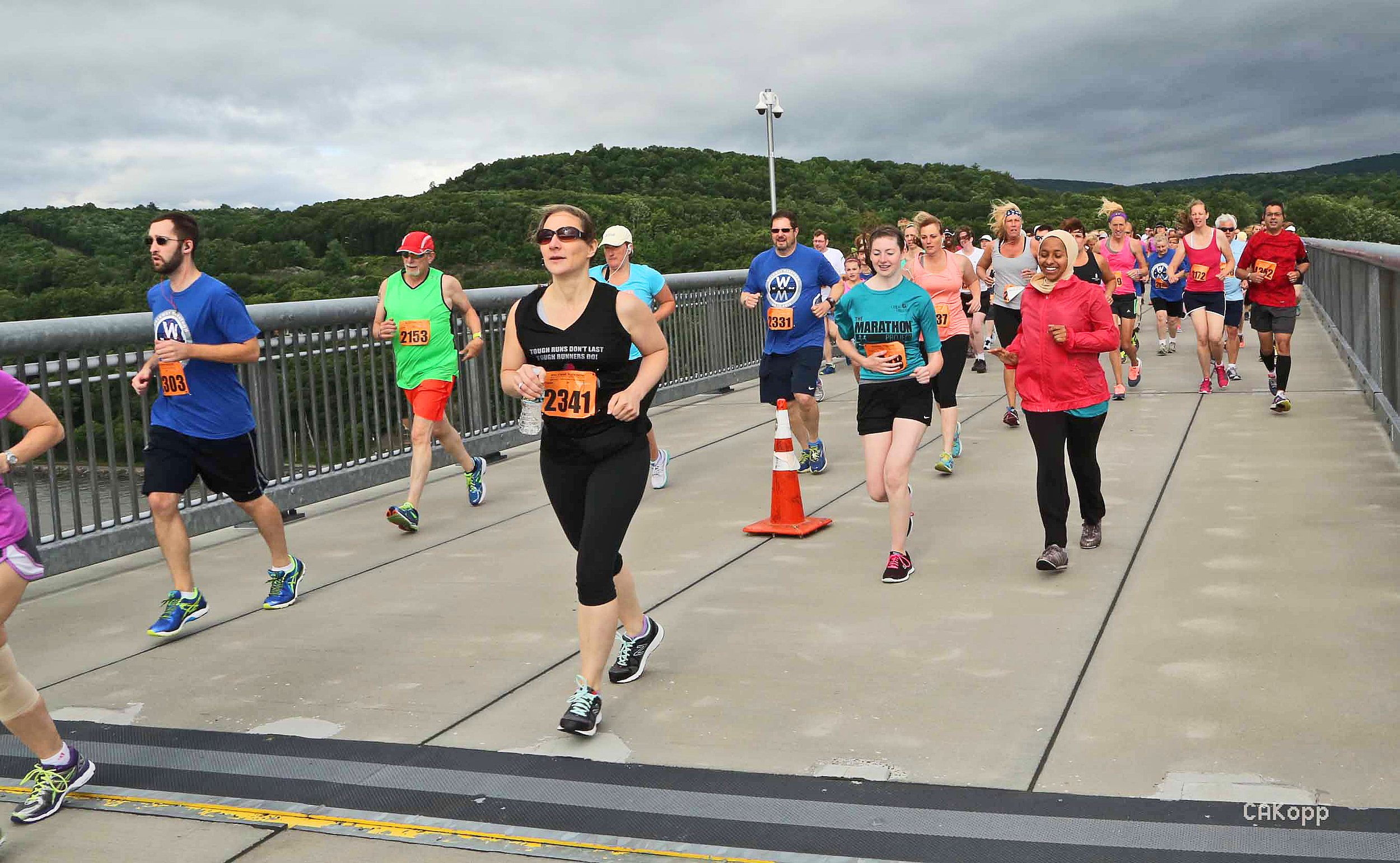 2015 Walkway Marathon.   Charlotte Kopp