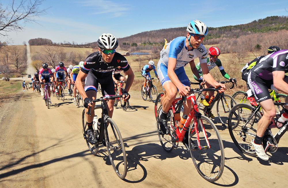 2015 Tour of the Battenkill Fondo.   Dave Kraus