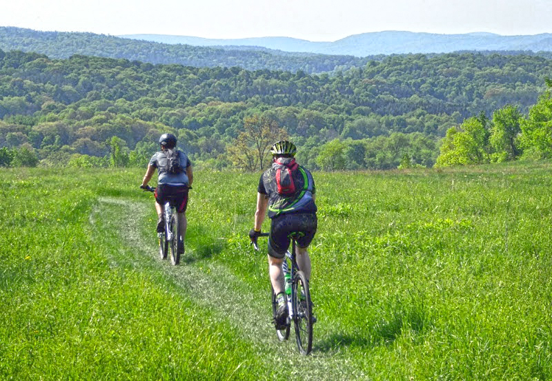 The Farmer's Daughter Gravel Grinder course is friendly to cyclocross, gravel, fat and mountain bikes.   Dave Kraus