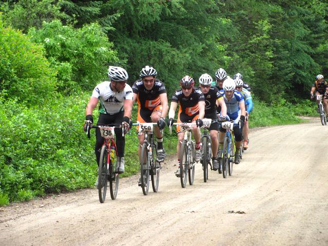 2015 Black Fly Challenge racers on the Moose River Plains.   WeeklyAdk.com