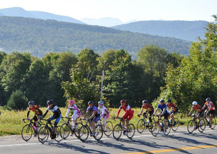 2015 Pat Stratton Memorial Ride in the Adirondacks.  Kiwanis Club of Saranac Lake