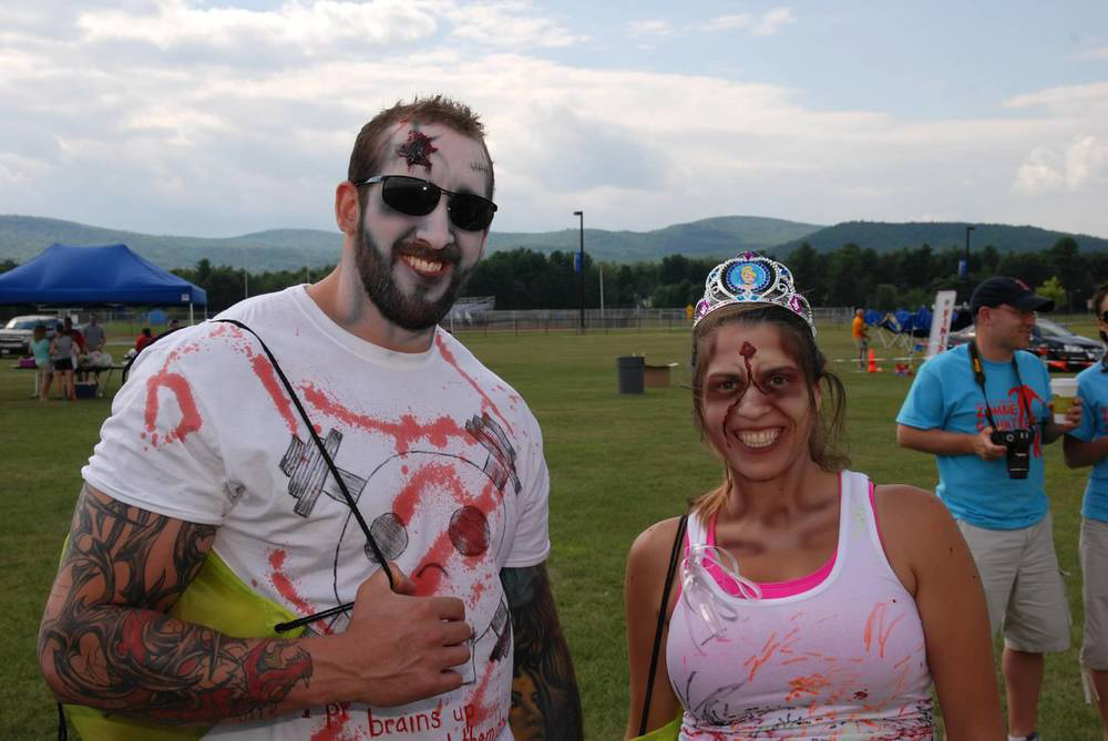 2014 Zombie Gauntlet 5K for Sepsis Awareness in Queensbury.