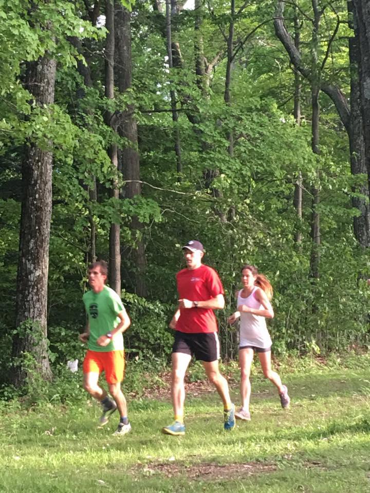 Thacher Park trail running. Nick Mosher