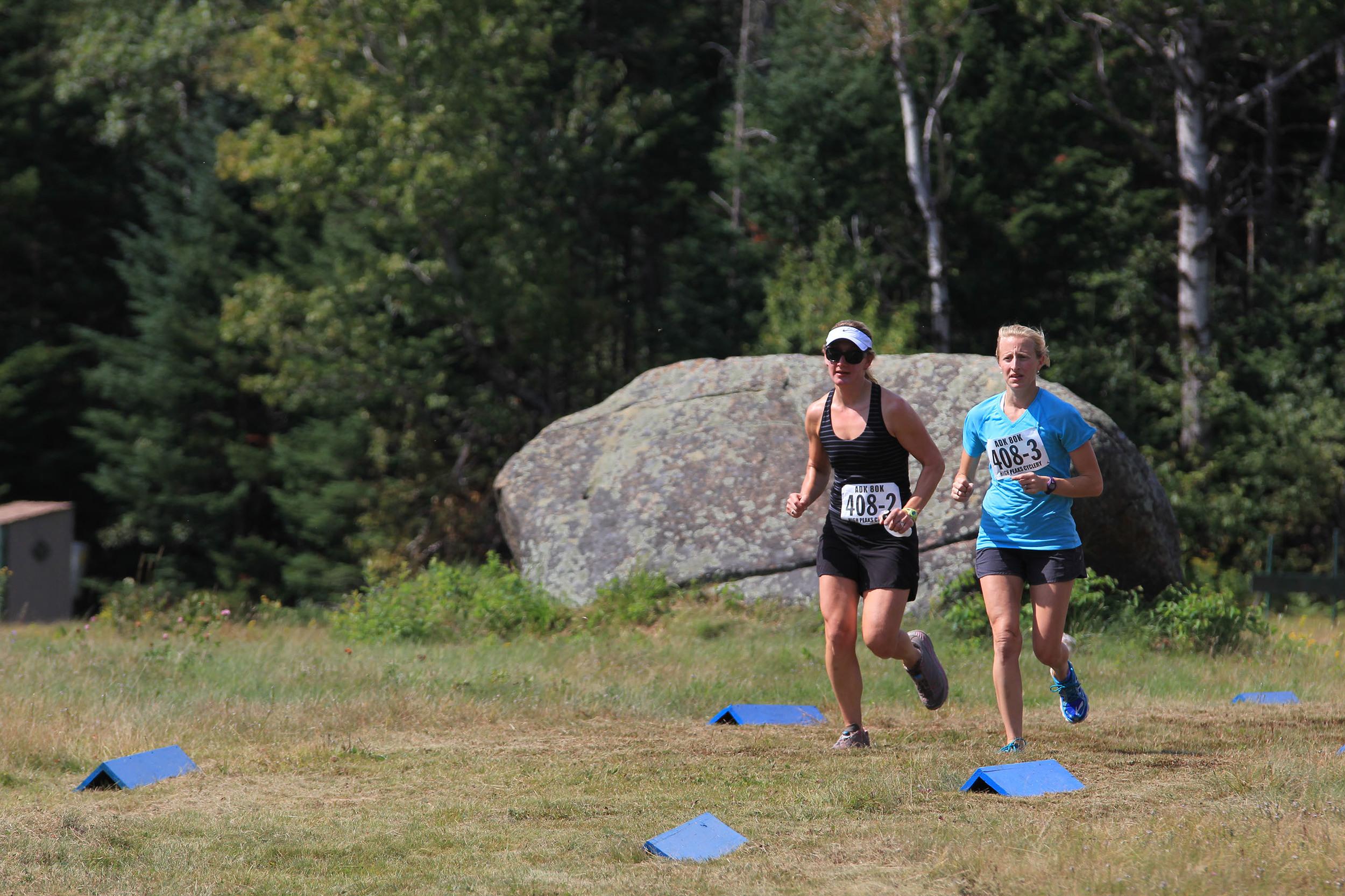 Runners in 2015 ADK 80K Trail Race. HPC